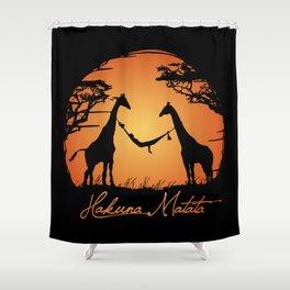 Hakuna Shower Curtain