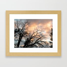 Gold Country Sunsets 3 Framed Art Print