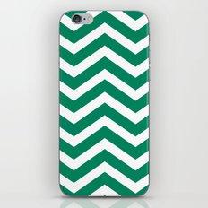 chevron emerald iPhone & iPod Skin