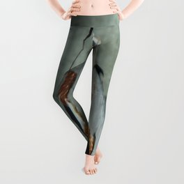 Great Blue Heron Photography Print Leggings