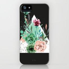 Suculetas Zen iPhone Case