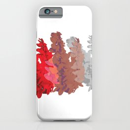 Chaconia Hedge iPhone Case