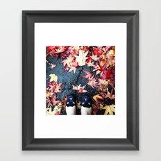fall. Framed Art Print