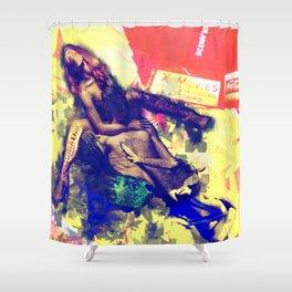 Billboard Shower Curtain