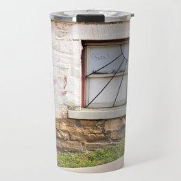 Basement window Travel Mug