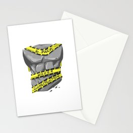 Six Pack - Under Construction Stationery Cards
