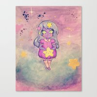 lumpy space princess Canvas Prints featuring Lumpy Space Princess by Rachel