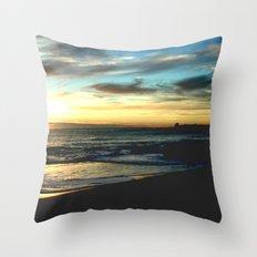 Sunrise on the South Coast of Australia Throw Pillow