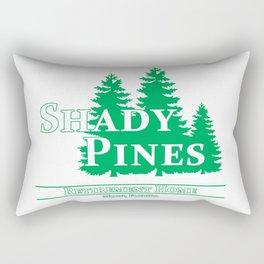 Shady Pines Ma! Rectangular Pillow