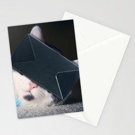 Virtual Reality Kitty Cat Stationery Cards