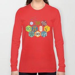 Math in color Black B Long Sleeve T-shirt