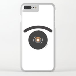 long pl.eye Clear iPhone Case
