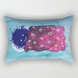 Cute Evil Bug Goes To Sleep Rectangular Pillow