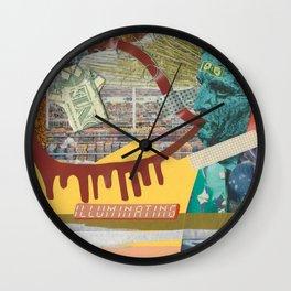 ILLUMINATING Wall Clock