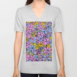 Flowers for You Unisex V-Neck