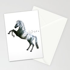 Horse nature view Stationery Cards