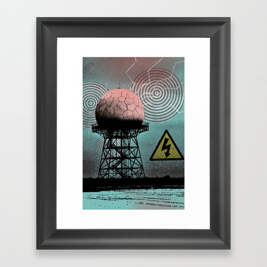 The future is now! Framed Art Print
