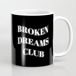 Broken Dreams Club Monochrome Coffee Mug