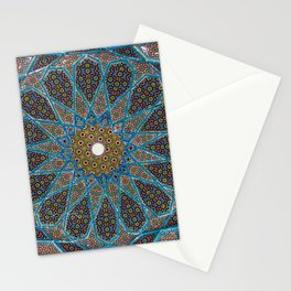 Blue Tiles Stationery Cards