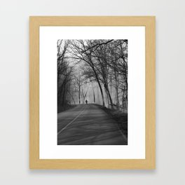 On Assignment: Controled Burn Framed Art Print