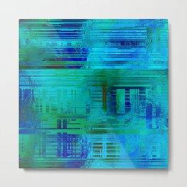 SchematicPrismatic 05 Metal Print
