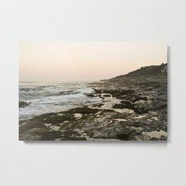 Maine Rocky Coast Metal Print