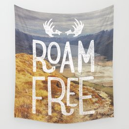 Roam Free NZ Wall Tapestry