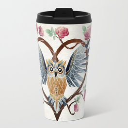 lovely owl Travel Mug