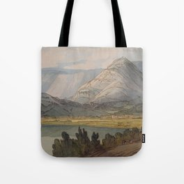 Grasmere From The Rydal Road, 1786, By Francis Towne Tote Bag