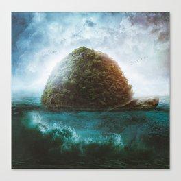 Turtle Island by GEN Z Canvas Print