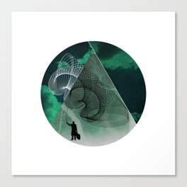 Mind Canvas Print