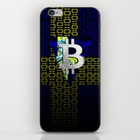 sweden iPhone & iPod Skins featuring bitcoin sweden by seb mcnulty