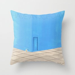 HAVE A NICE DAY_ver2 Throw Pillow