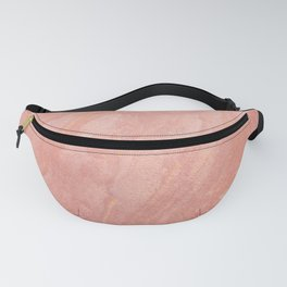Peach Abstract Fanny Pack