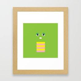 Gachapin Framed Art Print