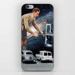 The Builder iPhone Skin