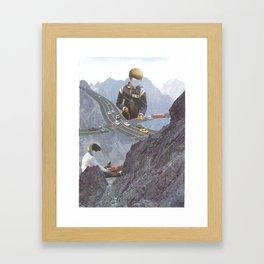 Chasing Cars Framed Art Print
