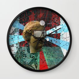 Wonder Wood Dream Mountains - The Demon Cleaner Series · Hall of the Mountain Grill Wall Clock