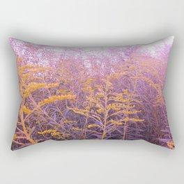 Pink Goldenrod Rectangular Pillow