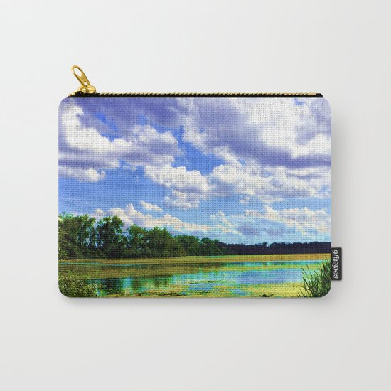 Lake Wingra, Wisconsin Carry-All Pouch