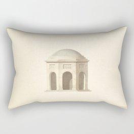 Classical Architecture Rectangular Pillow