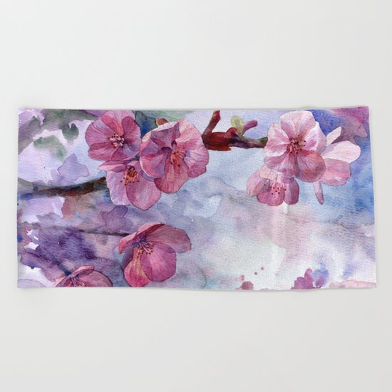 """Sakura"" Beach Towel"