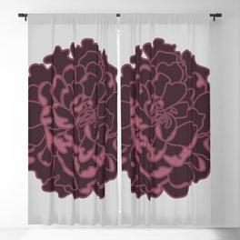 Blush Peony Blackout Curtain