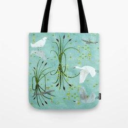 little egrets Tote Bag