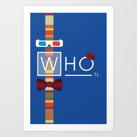 not your average doctor Art Print