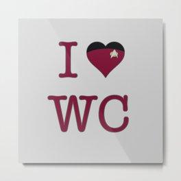 I Heart Wesley Crusher Metal Print