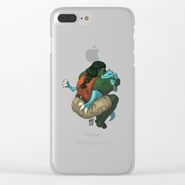 Sweet Flips (The Adventure Zone) Clear iPhone Case