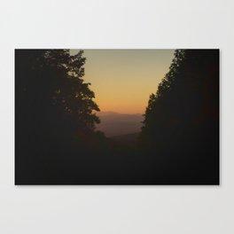 Vermont SunSet Canvas Print