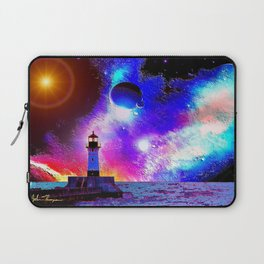 Lighthouse to the stars Laptop Sleeve