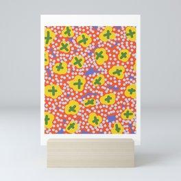 Criss Cross Mini Art Print